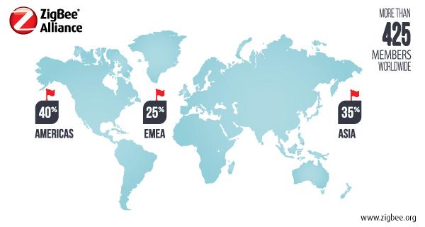 ZigBee__2016 Membership Map
