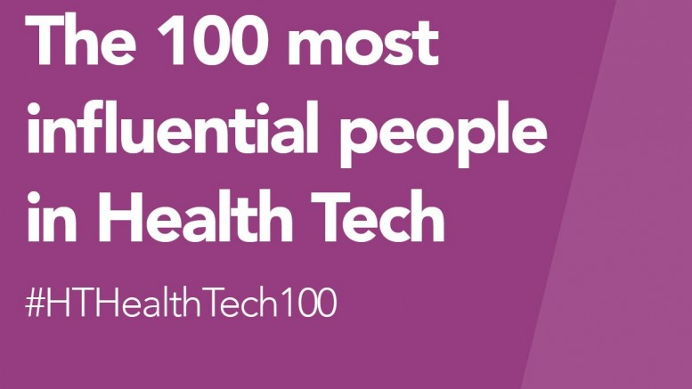 Health Tech Top 100 graphic