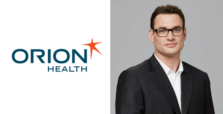 Wayne Oxenham, president of Orion Health, North America