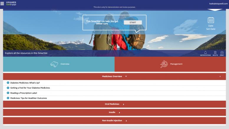 smartlist page