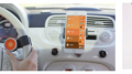 Requiring no visual attention, O6 addresses the distracted driving epidemic, while also aiding visually impaired by converting apps into radio stations