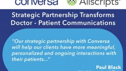 Conversa Health, a StartupHealth company, partners with Allscripts