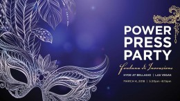 Plans for the Spring '18 Power Press Party have been announced. For more details, please visit www.PowerPressParty.com or call Dennis Dailey at 803-702-0001