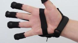 BeBop Sensors Forte Data Glove on Back Hand Photo