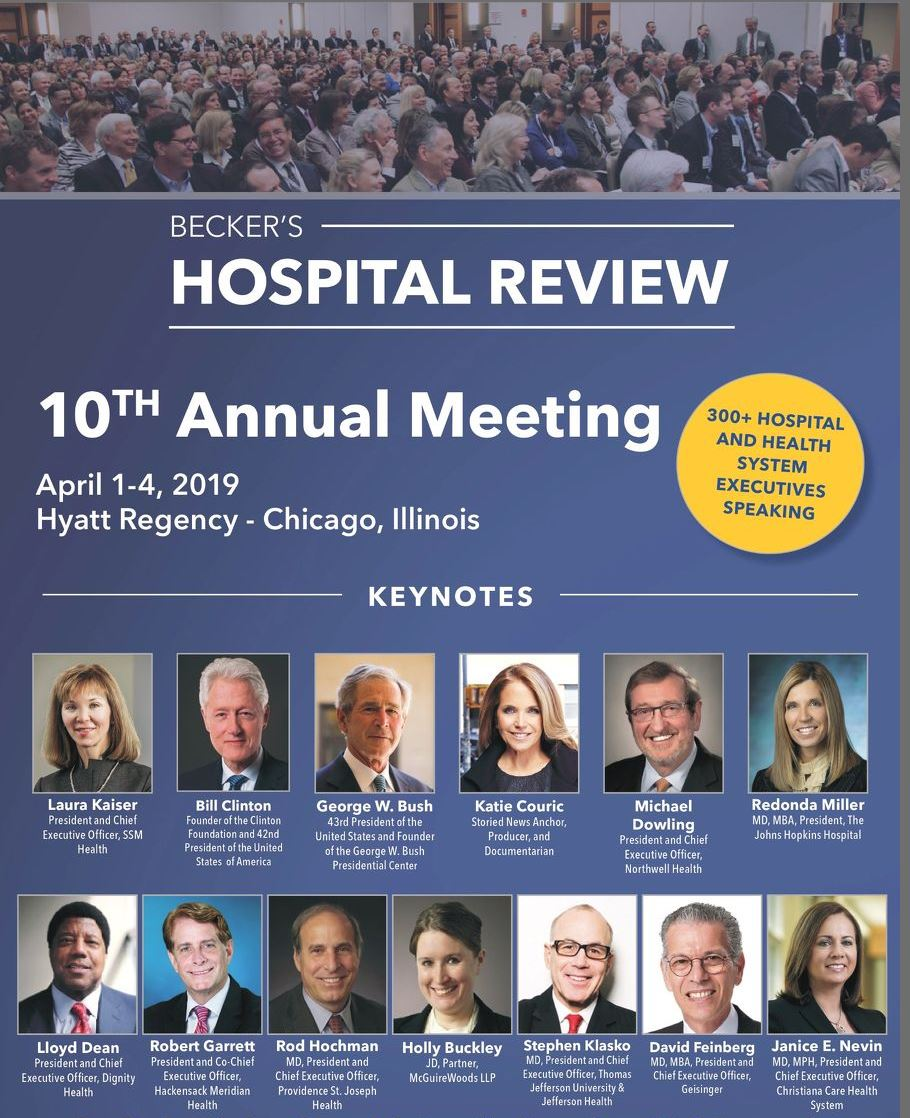 Becker's Hospital Review 10th Annual Meeting