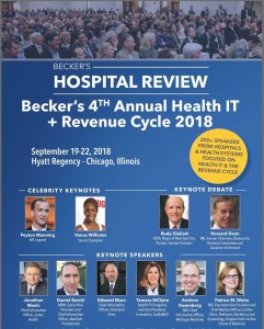 Beckers_HealthIT+RevCyc'18
