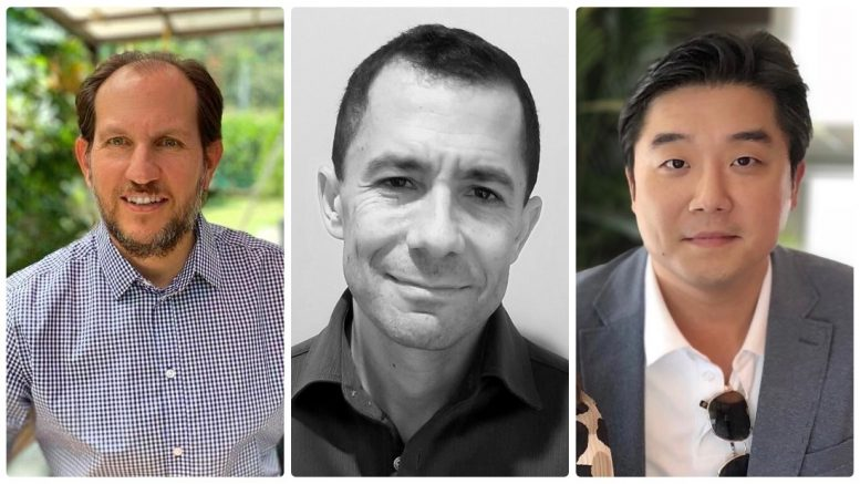 Pager's New Execs (left to right) -- Fabian Alvarez, Vice President, Latin America, Matt Kempler, Chief Financial Officer and Joe Lee, General Counsel.